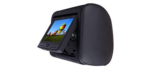 Dual headrest monitor DVH904HD
