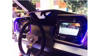 JVC Kenwood blind spot detection at CES