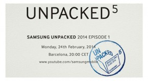 Samsung to Intro Galaxy S5 and Gear 2 on Feb. 24