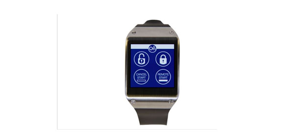 GM smartwatch app