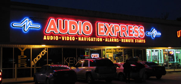 Audio Express store