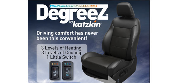 Aftermarket Heating Cooling Seat Kits From Katzkin