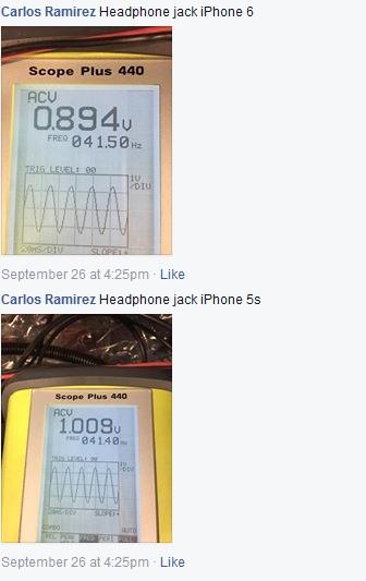 Carlos iPhone 6 volts