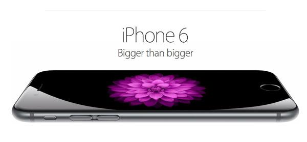 iPhone 6 bigger