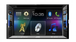 JVC Mobile Ships Four New Receivers for 2015
