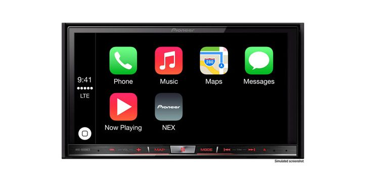 Pioneer AVIC-8000NEX CarPlay