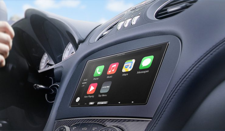 Alpine iLX-007 CarPlay