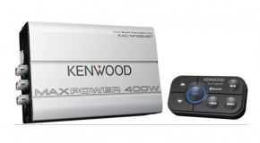 Kenwood Intros Its First Bluetooth Amp at CES