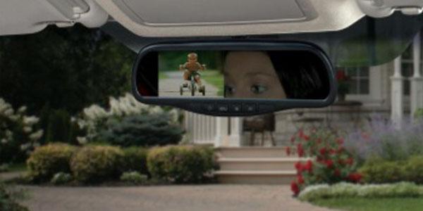 Advent rear view mirror