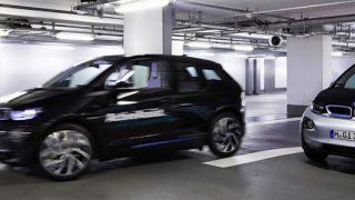 BMW selfparking
