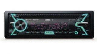 Sony high power car radio