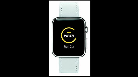 Viper offers remote start from Watch,
