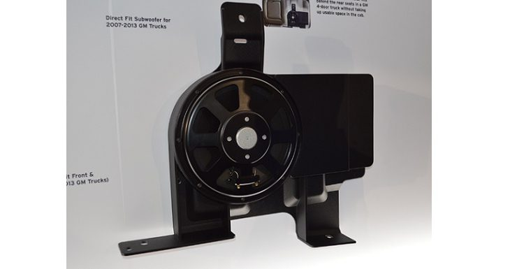 Alpine Direct Fit subwoofer