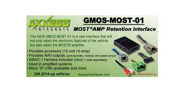 Metra MOST car radio replacement kit