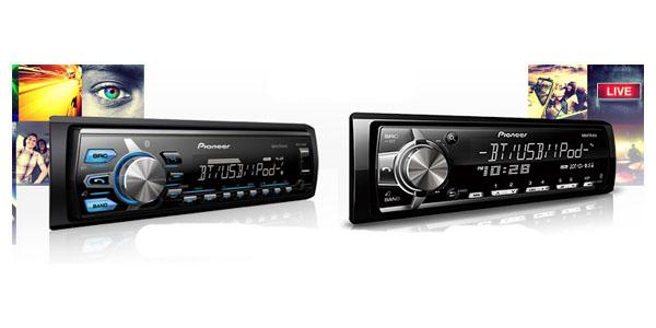Pioneer CDless radios