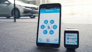 Hyundai smartwatch app