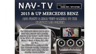 NAV-TV W205-RVC