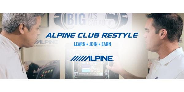 Alpine Club Restyle