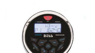 Boss gauge radio