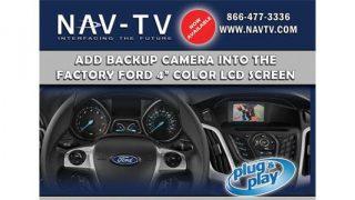 NAV-TV Ford backup camera interface