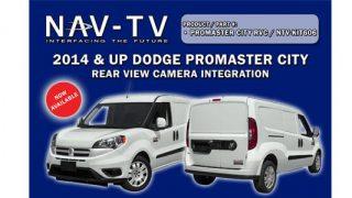 Promaster City NAVTV