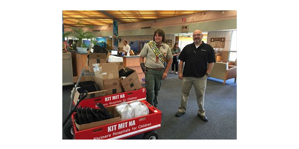 Tunes N Tint Helps Shriners