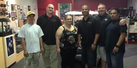 Auto Sound Specialists crew with Dewar