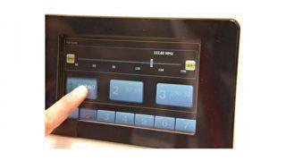 Bosch Haptic controls
