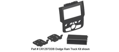 Scosche Dodge RAM kit