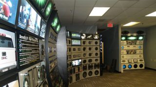 5 Axis audio displays for retailers