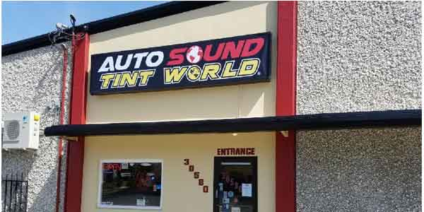 Auto Sound Tint World