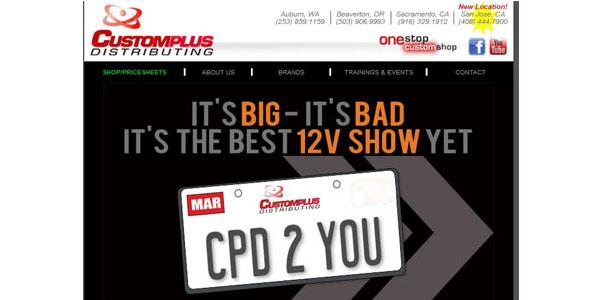 Custom Plus Distributors show