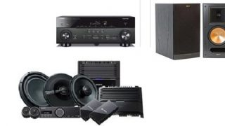 home and car audio components
