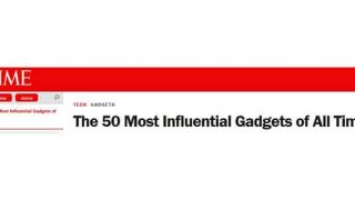 Time's Top 50 Gadgets