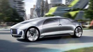 Autonomous Mercedes