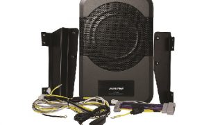 Wrangler bass system by Alpine