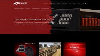 Arc Audio website