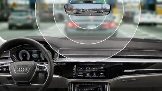 Audi toll mirror