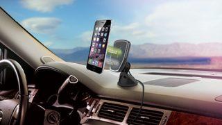 in-car wireless charging cradles