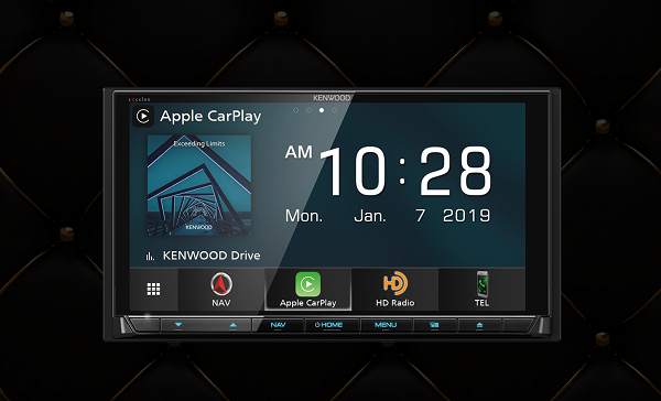 Kenwood wireless CarPlay
