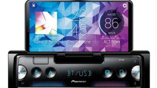 Pioneer smartphonedocking radio
