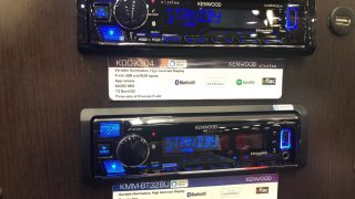 Kenwood Alexa car radio