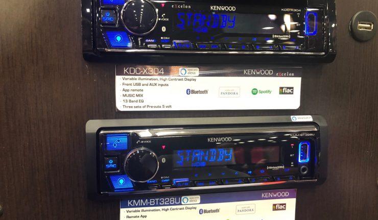 Kenwood Alexa car radio