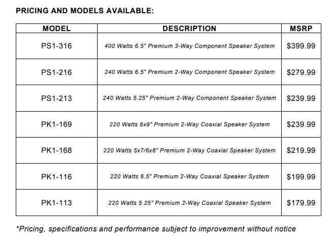 MB Quart Premium Pricing