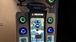 Memphis powersports audio display