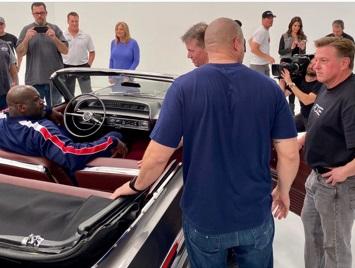 Overhaulin Shaq 64 impala with Arc Audio sound system