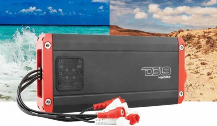DS18 NXL power sports audio amplifier waterproof