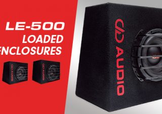DD Audio Intros New Loaded Enclosures