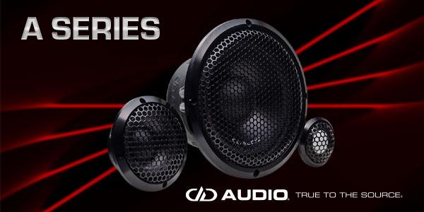 DD Audio Intros A Series Car Speakers