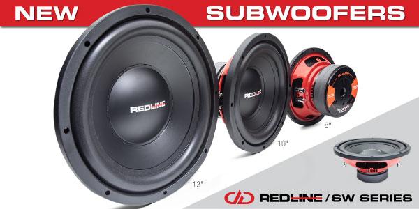 DD audio REDLINE Subwoofers